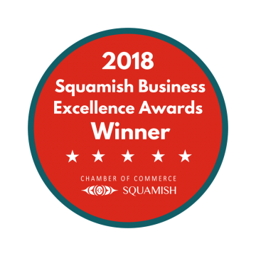 2018 Squamish Business Excellence Award Winner