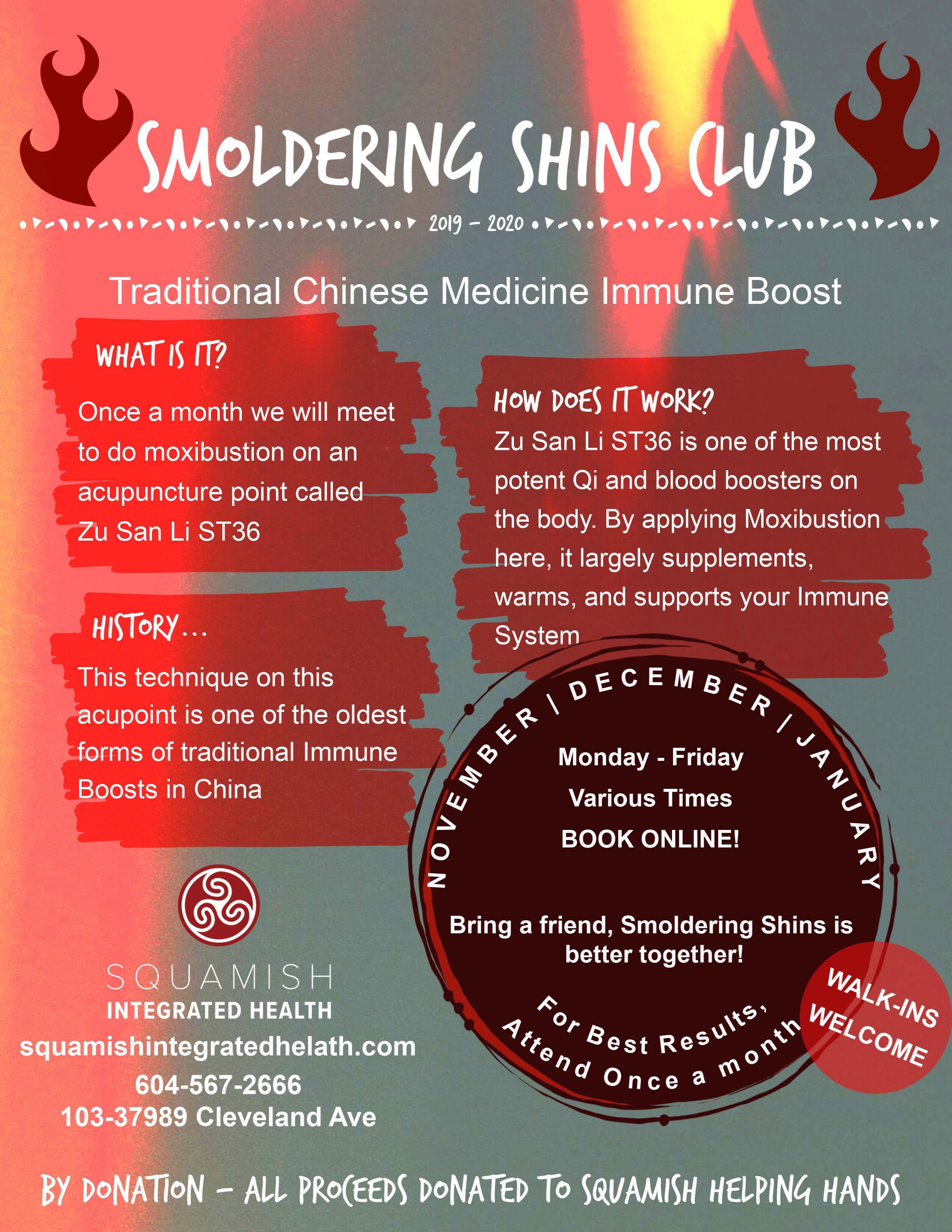 Smoldering Shins Club